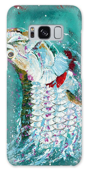 Pallet Knife Jumping Tarpon Galaxy Case