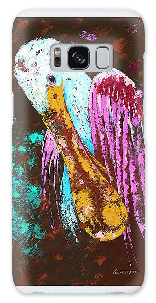 Pallet Knife Spoonbill Galaxy Case