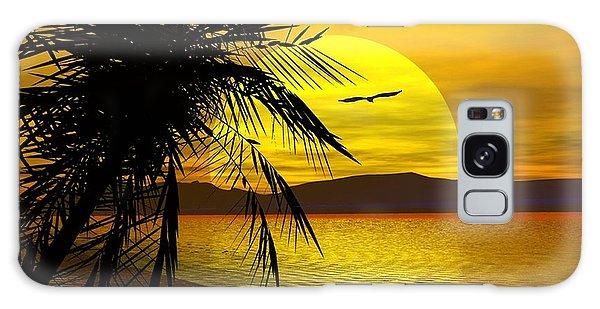Palm Beach Galaxy Case by Robert Orinski
