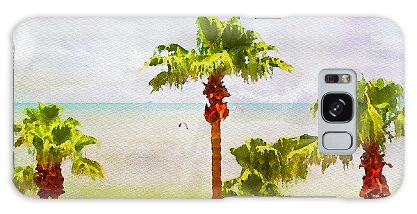 Palm Breeze Galaxy Case