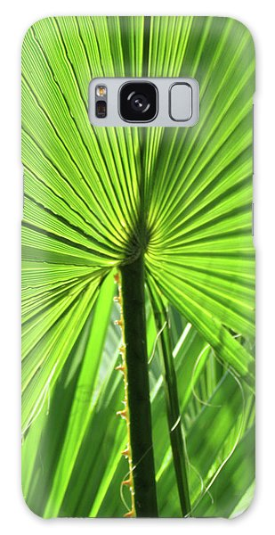 Palm Frond Galaxy Case