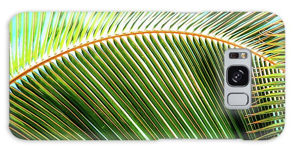 Palm Frond Sway Galaxy Case