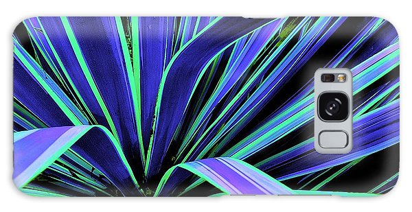 Palm Fronds Galaxy Case