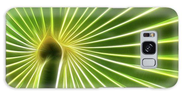 Palm Glow Galaxy Case