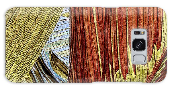 Palm Leaf Abstract Galaxy Case by Ben and Raisa Gertsberg