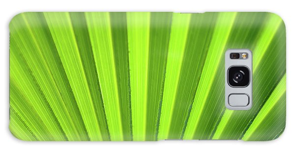 Palm Leaf Abstract Galaxy Case