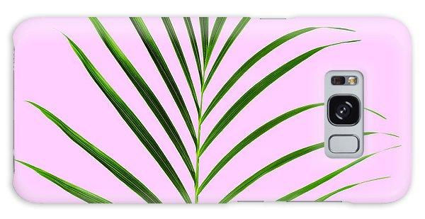 Leaf Galaxy Case - Palm Leaf by Tony Cordoza