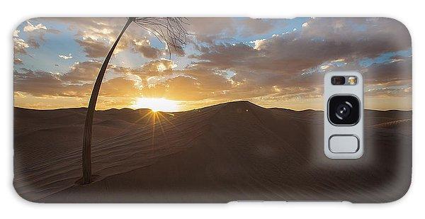 Palm On Dune Galaxy Case
