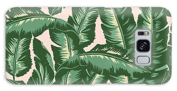 Nature Galaxy Case - Palm Print by Lauren Amelia Hughes