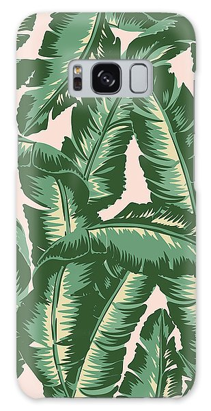 Lives Galaxy Case - Palm Print by Lauren Amelia Hughes