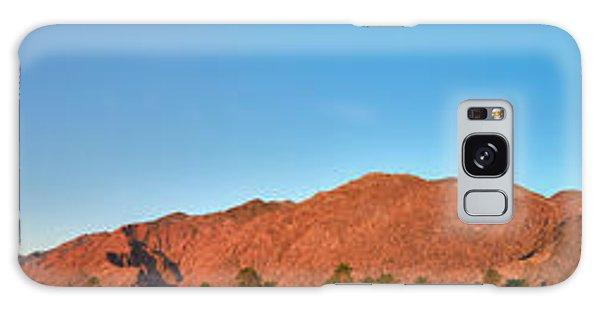Palm Springs Sunrise Galaxy Case