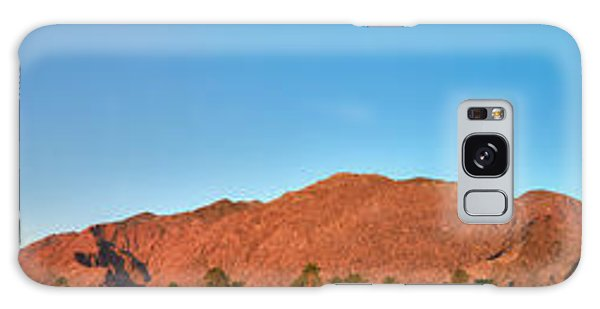 Palm Springs Sunrise Galaxy Case