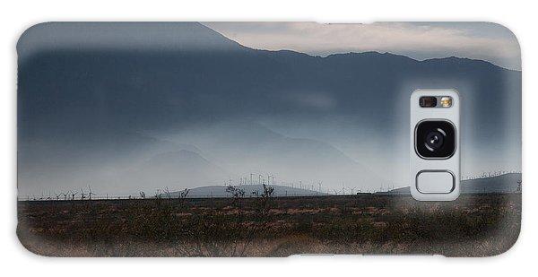 Palm Springs Windmills Galaxy Case