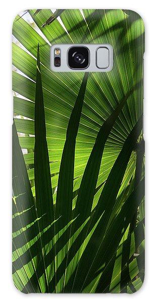 Palm Study 1 Galaxy Case