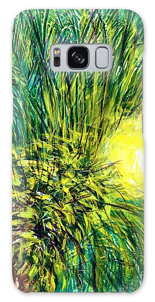 Palm Sunburst  Galaxy Case