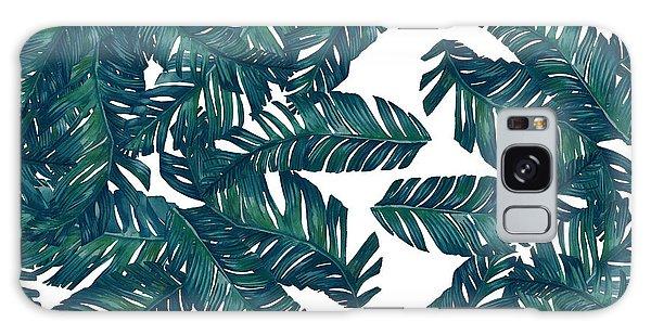 Leaf Galaxy Case - Palm Tree 7 by Mark Ashkenazi