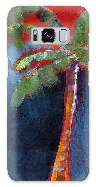 Tree Galaxy Case - Palm Tree- Art By Linda Woods by Linda Woods