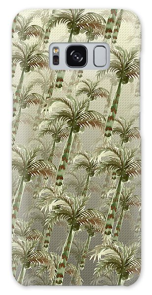 Palm Tree Grove Galaxy Case