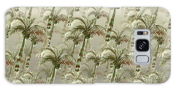 Palm Tree Grove Galaxy Case