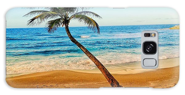 Palm Tree  Galaxy Case
