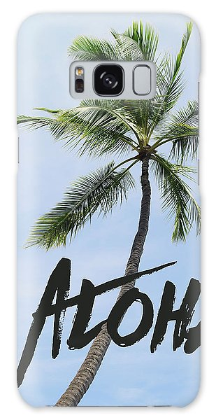 Palm Tree Galaxy Case by Nastasia Cook