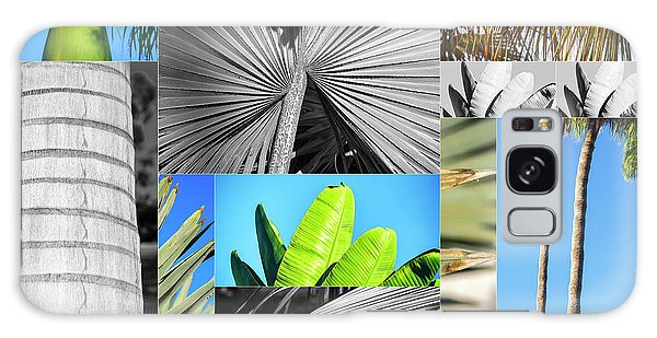 Palm Tree Parts Galaxy Case