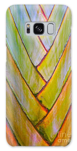 Palm Tree Pattern Galaxy Case by Todd Breitling