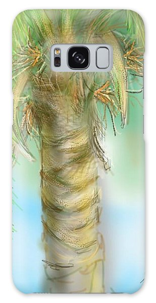 Galaxy Case featuring the digital art Palm Tree Study Two by Darren Cannell