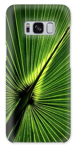 Palm Tree With Back-light Galaxy Case