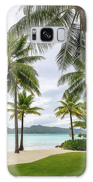 Palm Trees 1 Galaxy Case