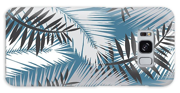 Vector Galaxy Case - Palm Trees 10 by Mark Ashkenazi