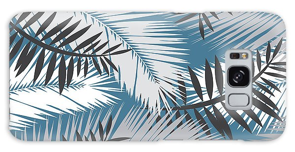 Bird Galaxy Case - Palm Trees 10 by Mark Ashkenazi