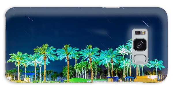 palm Trees Galaxy Case