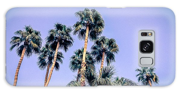 Palm Trees Palm Springs Summer Galaxy Case