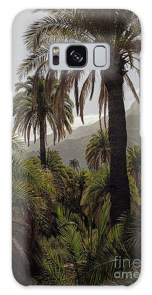 Palm Trees Galaxy Case by Patricia Hofmeester