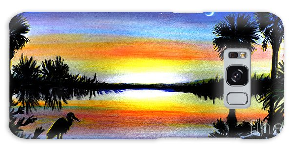 Palmetto Moon Low Country Sunset II Galaxy Case