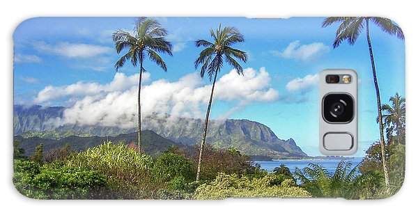 Palms At Hanalei Galaxy Case