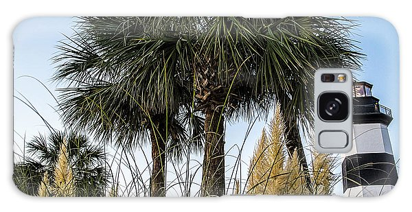 Palms At Lightkeepers Galaxy Case