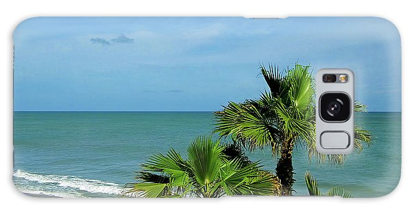 Palms At Vero Beach Galaxy Case