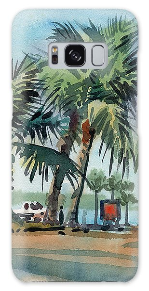 Palms On Sanibel Galaxy Case