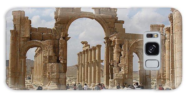 Palmyra Before...triumphal Arch Galaxy Case