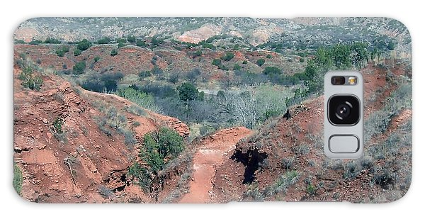 Palo Duro Canyon Galaxy Case