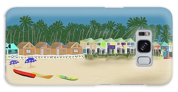Palolem Beach Goa Galaxy Case
