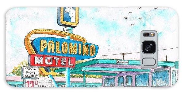 Palomino Motel In Route 66, Tucumcari, New Mexico Galaxy Case