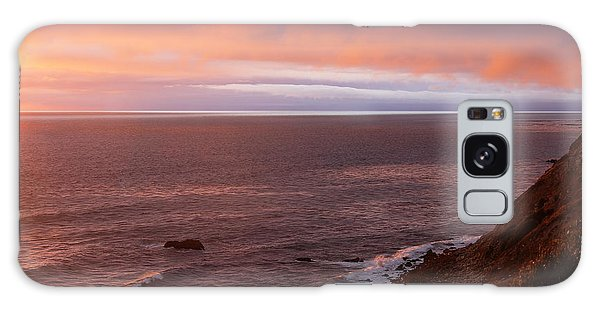 Palos Verdes At Sunset Galaxy Case