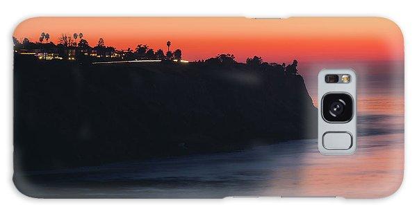 Palos Verdes Coast After Sunset Galaxy Case