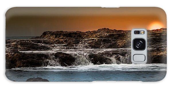 Palos Verdes Coast Galaxy Case by Ed Clark