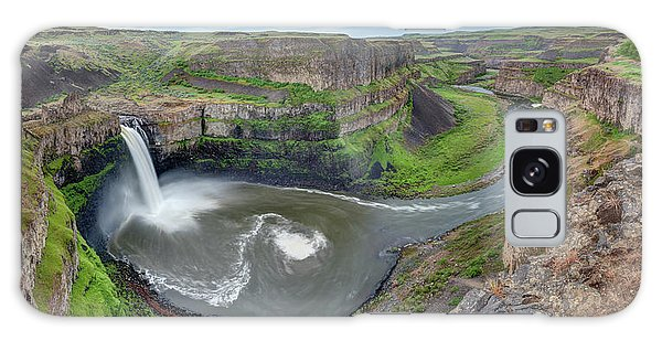 Palouse Falls In The Spring Galaxy Case