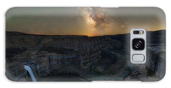 Palouse Falls Milky Way Galaxy  Galaxy Case