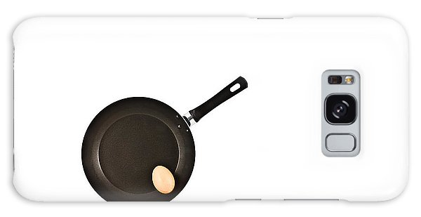 Pan With Egg Galaxy Case by Gert Lavsen